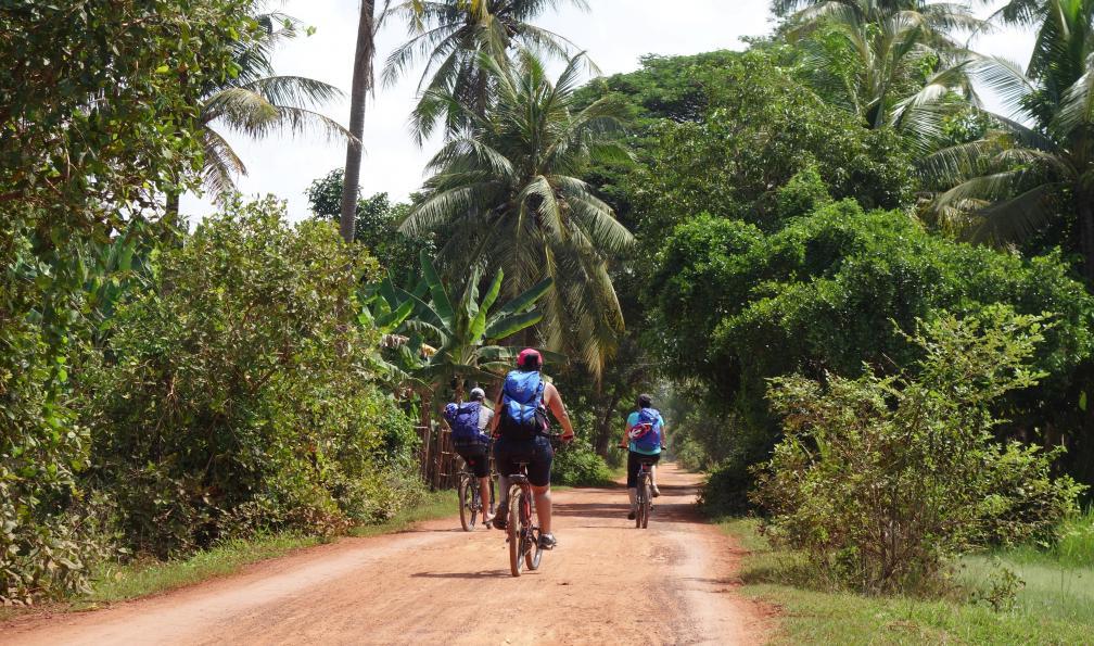 Image Splendeurs cambodgiennes à vélo