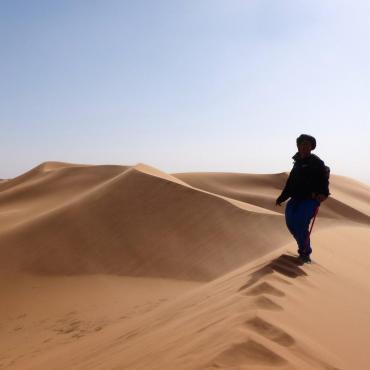 Là-bas au sud, le désert