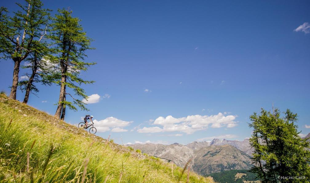 Image Du mercantour à nice en vélo électrique