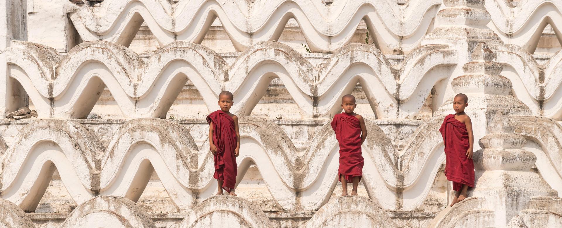 Voyage à pied Birmanie : Les ors de birmanie