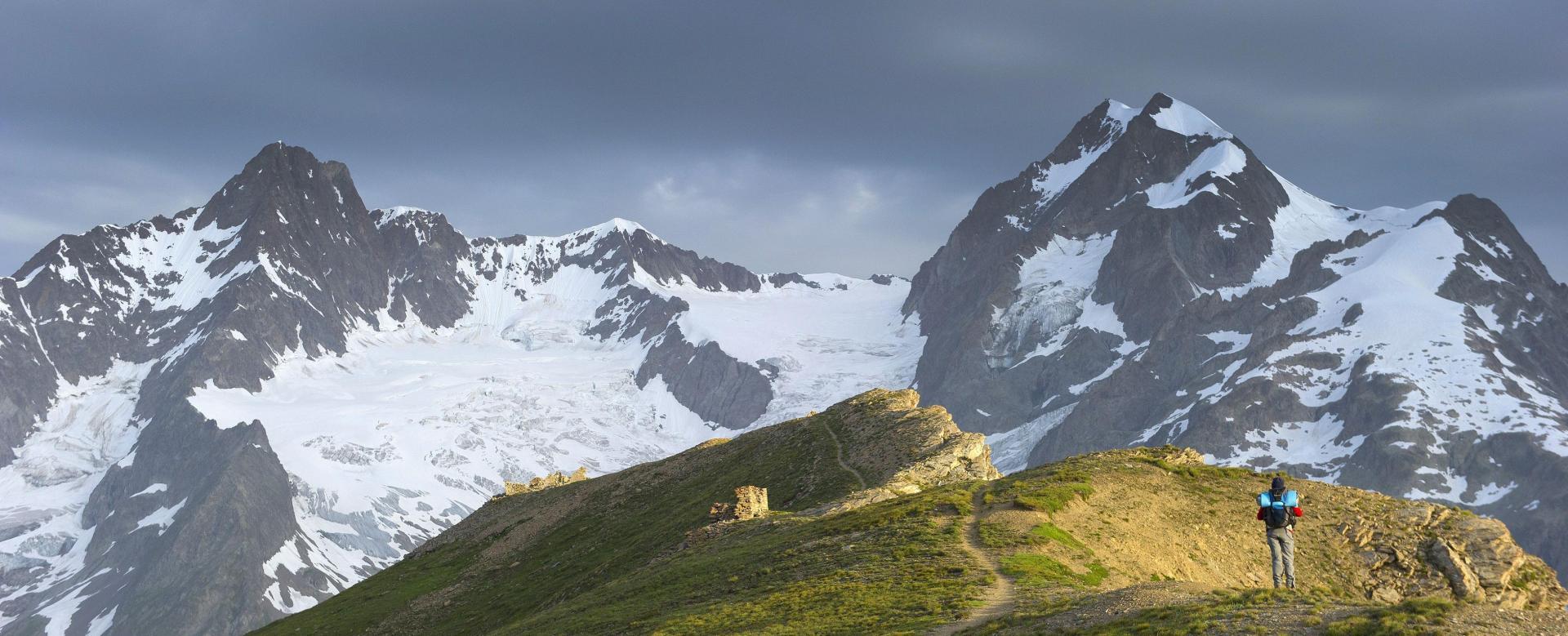 Voyage à pied : Tour du mont-blanc d'altitude