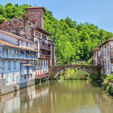 St-Jacques à vélo de Cahors à St-Jean-Pied-de-Port