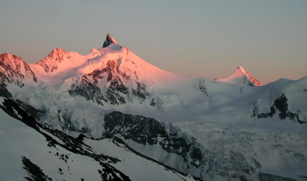 Image La couronne impériale : le bishorn (4153 m)