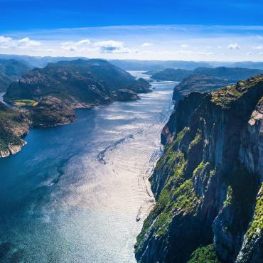 Les fjords du sud au nord