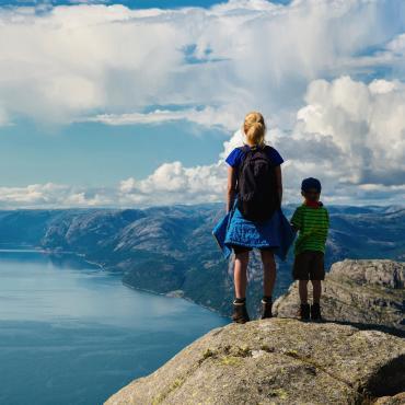 Petits Vikings aux îles Lofoten
