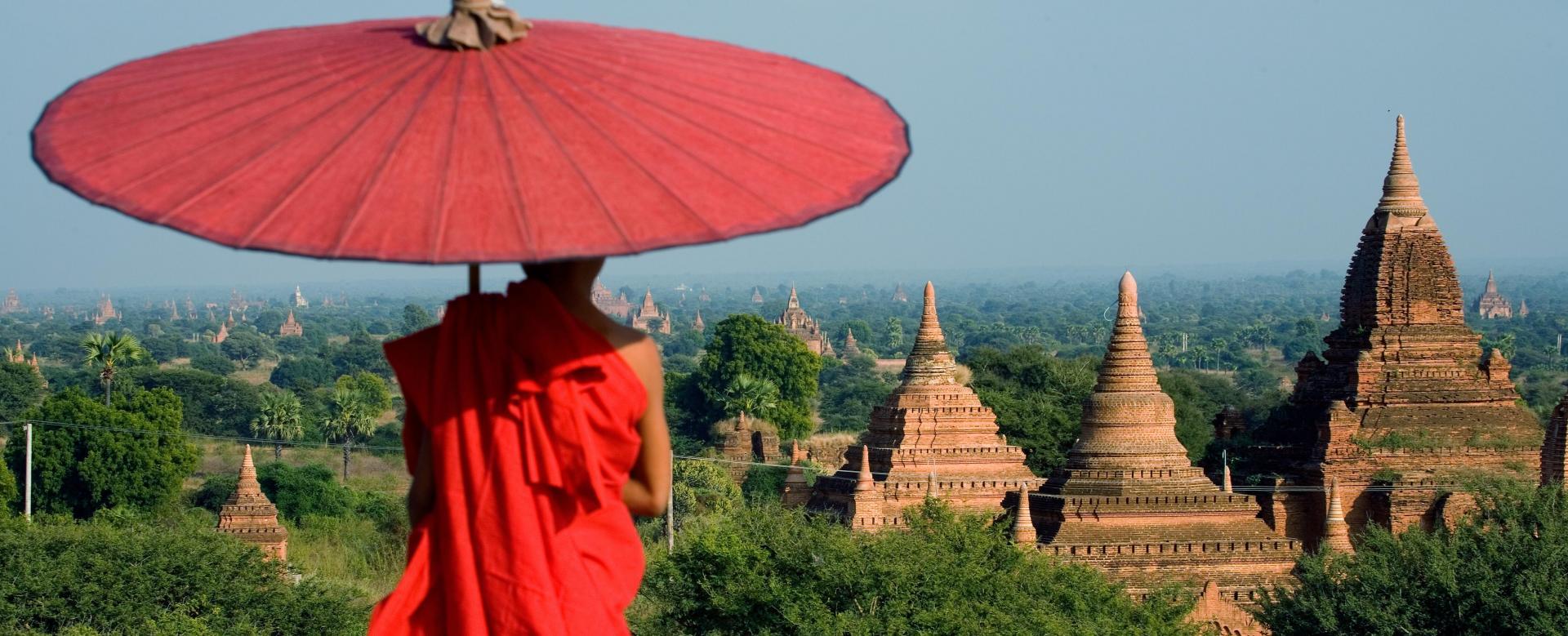 Voyage à pied : La birmanie du nord au sud