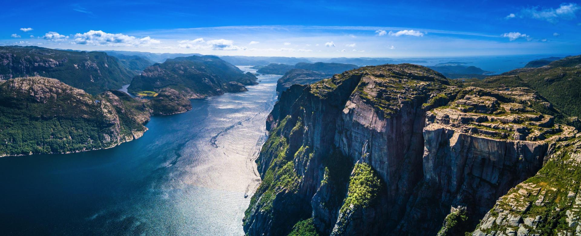 Voyage à pied Norvège : Les fjords du sud au nord