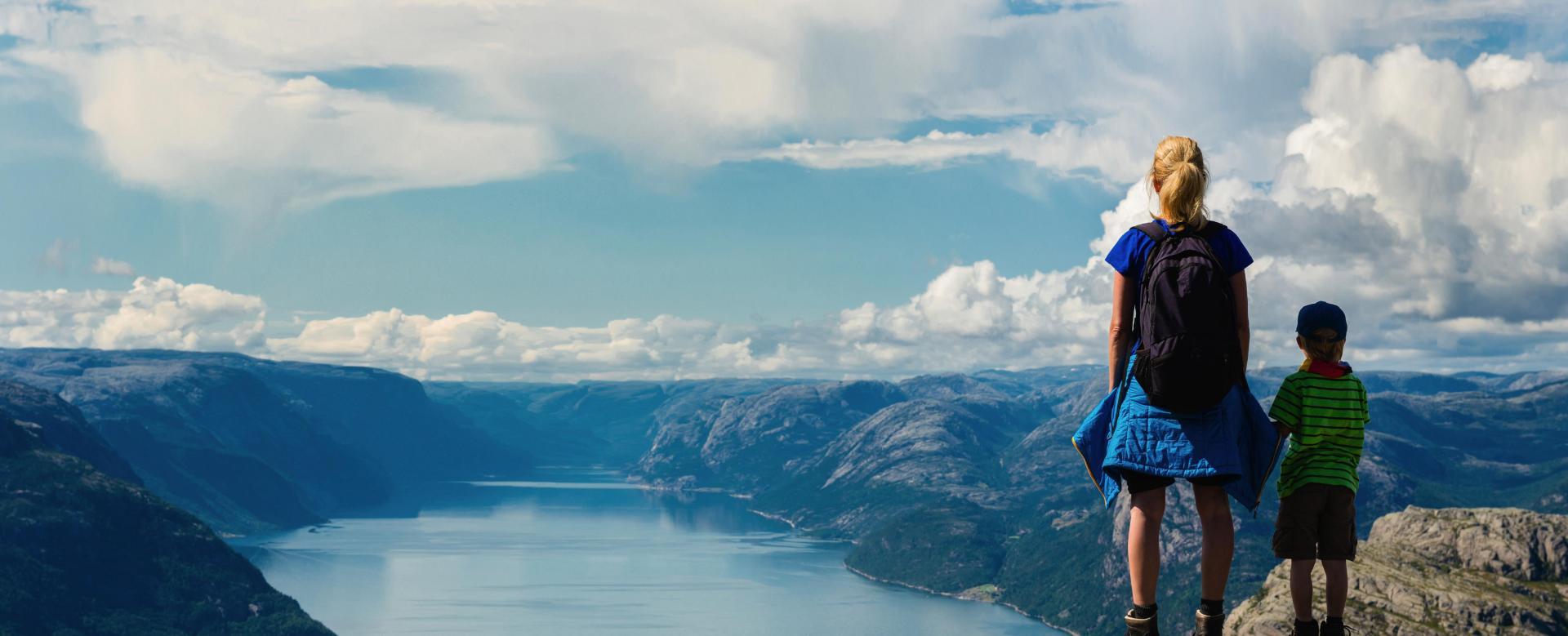 Voyage à pied Norvège : Petits vikings aux îles lofoten