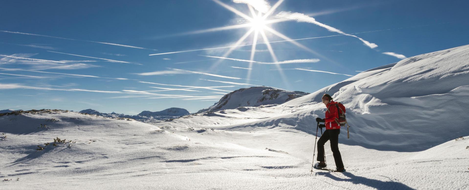 Voyage à la neige France : Rando-forme au pays du mont-blanc