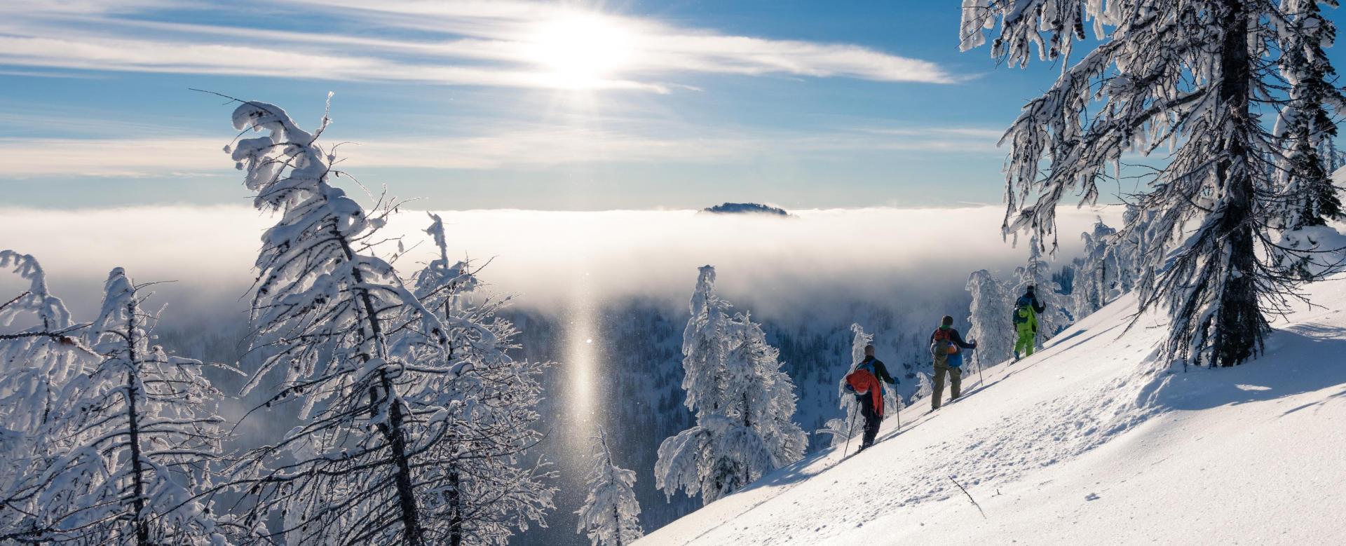 Voyage à pied : La traversée des tatras à skis de randonnée