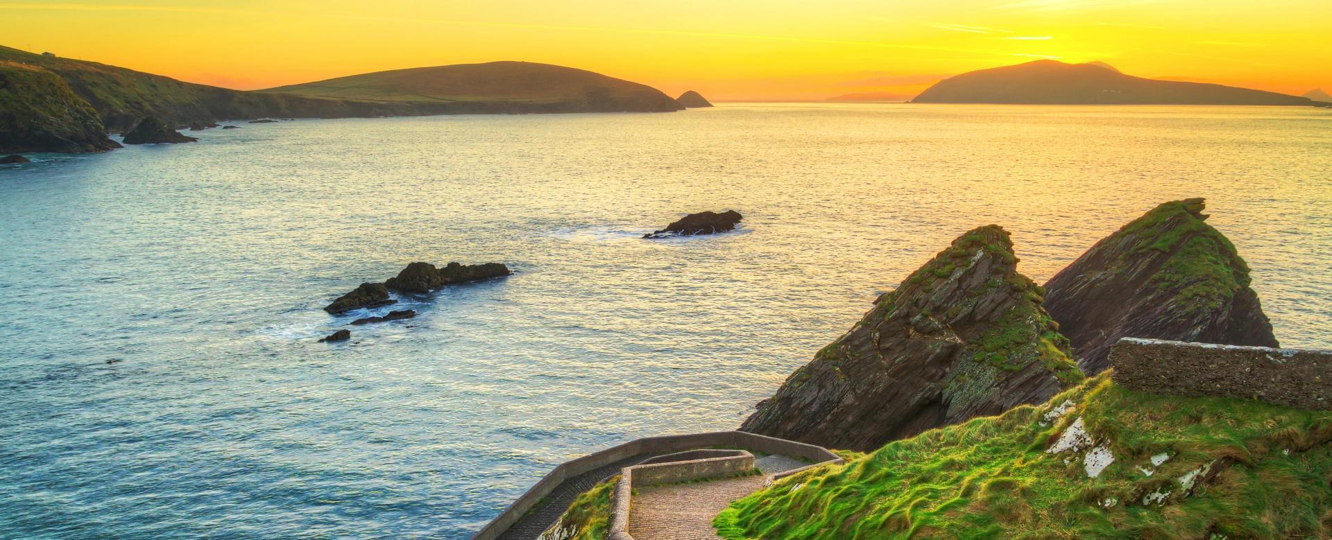 Voyage à pied : Le grand tour de l'irlande