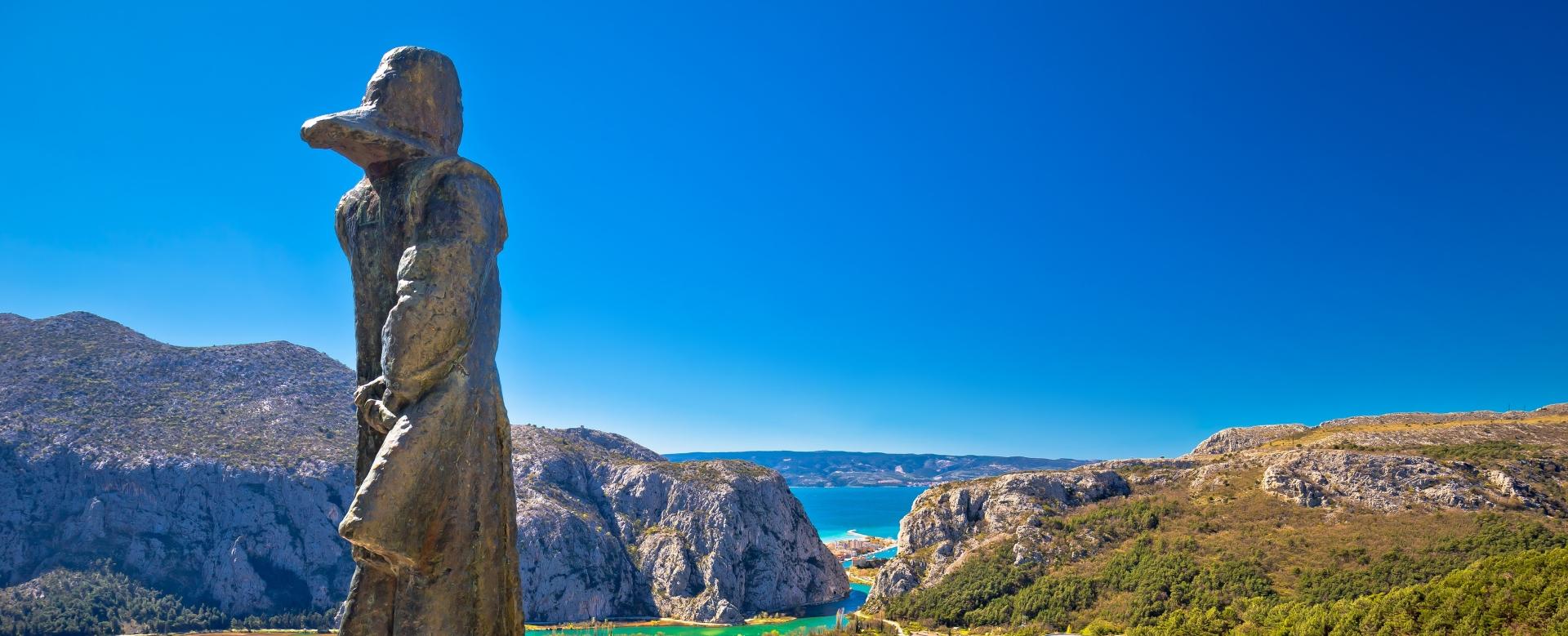 Voyage à pied : Croatie : Panorama de l'adriatique