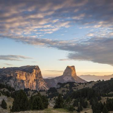 Vercors, mont Aiguille et trésors du Diois