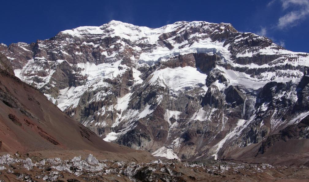 Image L'aconcagua (6962 m) par la voie normale