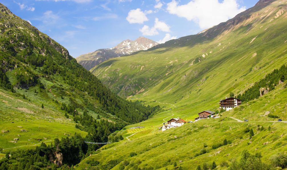 Image Lacs, glaciers et sommets du tyrol