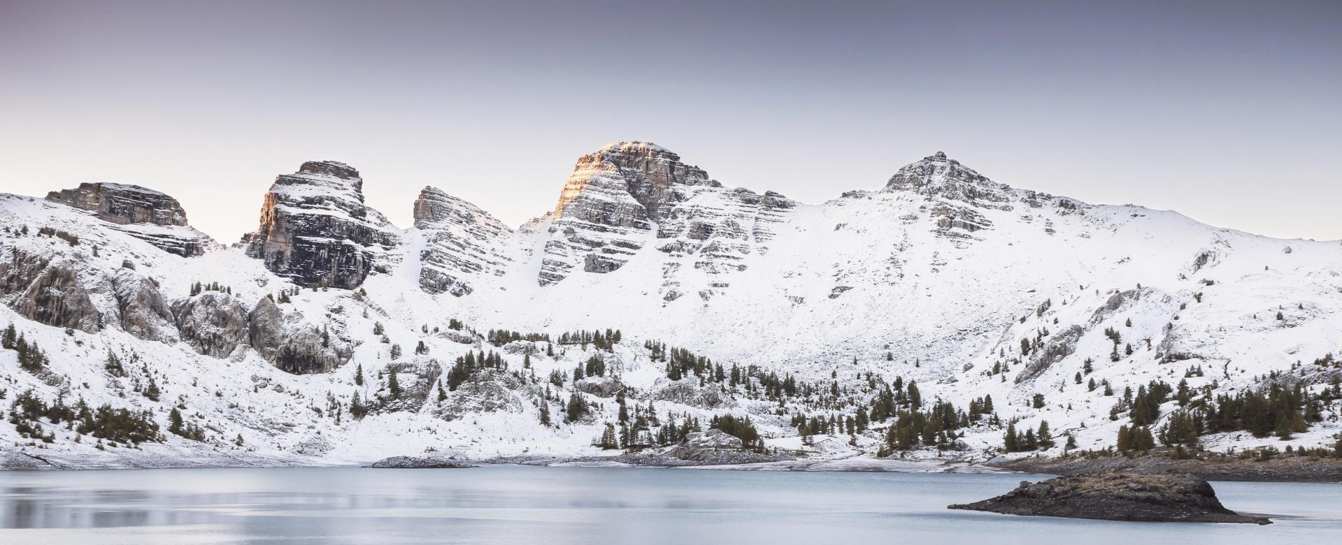 Voyage à la neige : Vallée des merveilles et mercantour