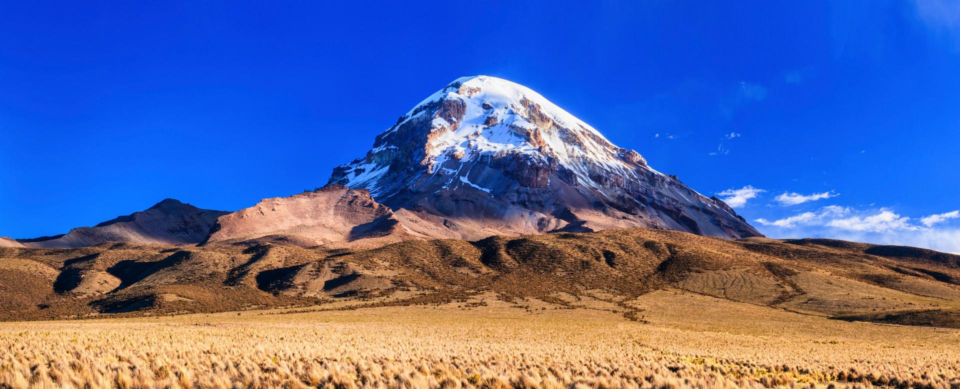 Voyage à pied : Illimani (6439 m) et sajama (6542 m)
