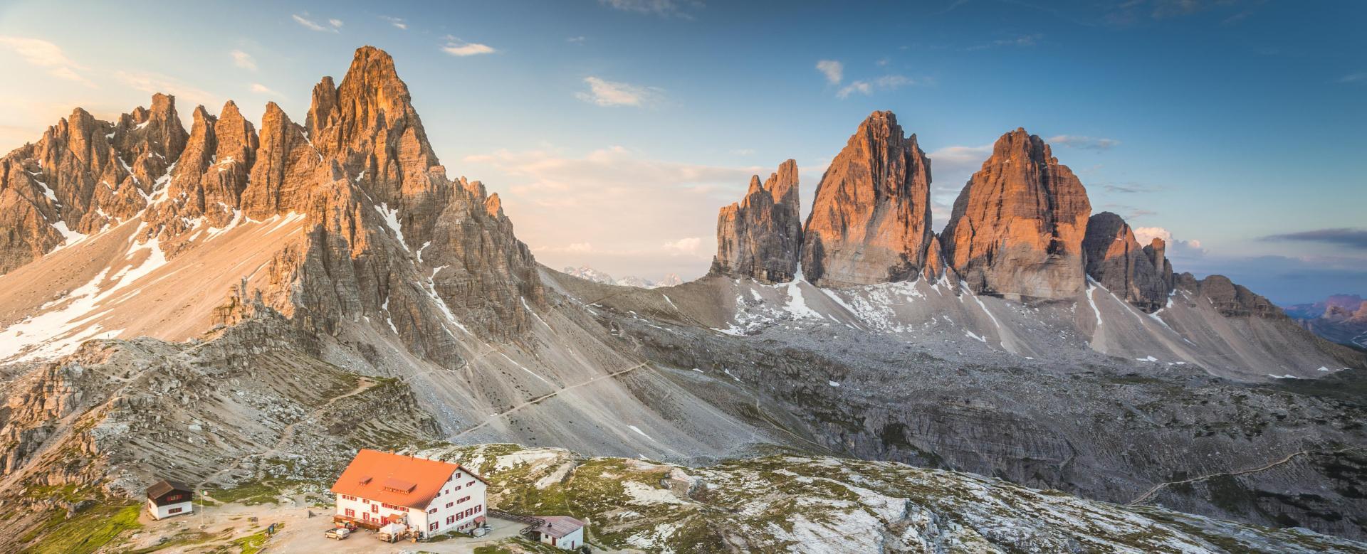 Voyage à pied : Alpes du Nord : La traversée des dolomites