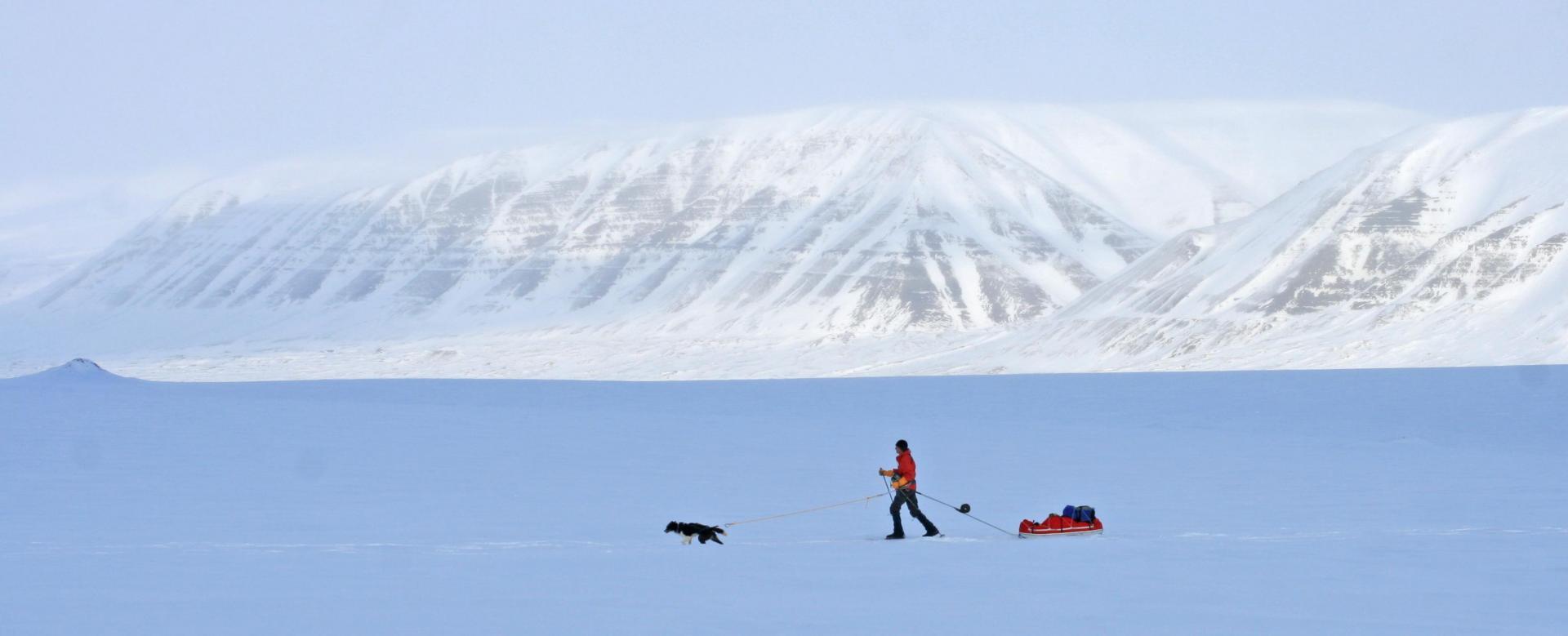 Voyage à la neige Norvège : Ski ou raquette : le glacier von post