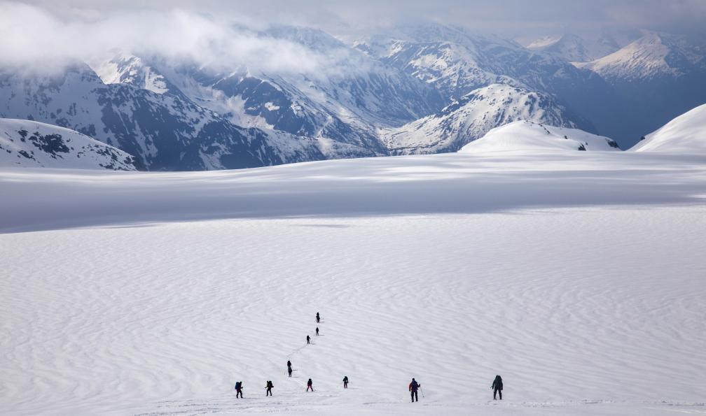 Image Ski de printemps dans les fjords norvégiens