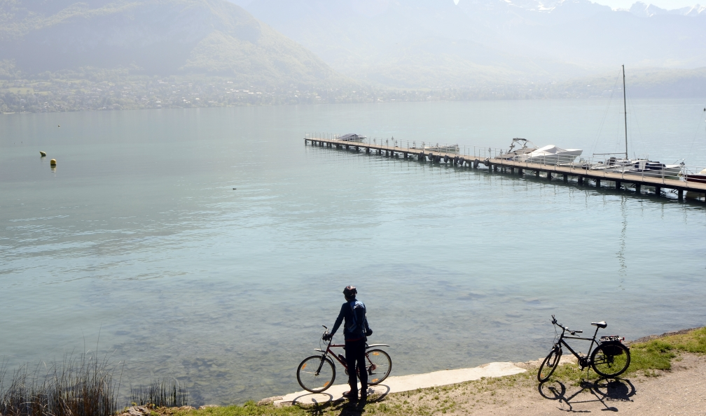 Image Traversée des alpes à vélo : de thonon à chambéry