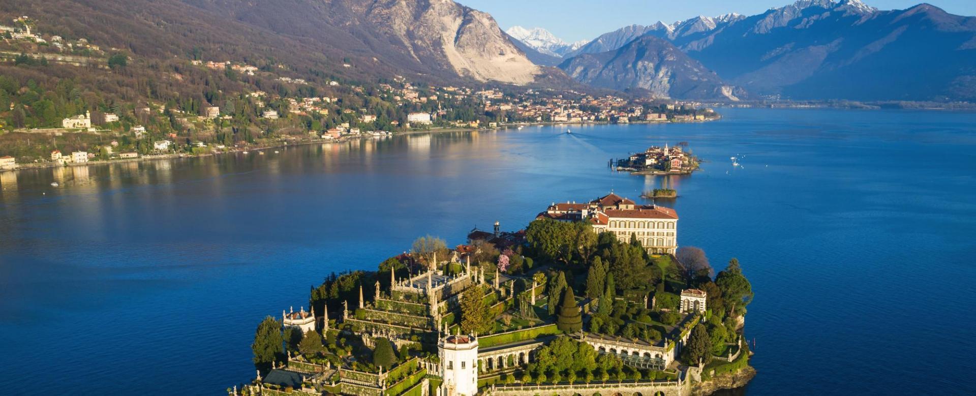 Voyage à pied : Les grands lacs : orta, majeur, lugano et côme