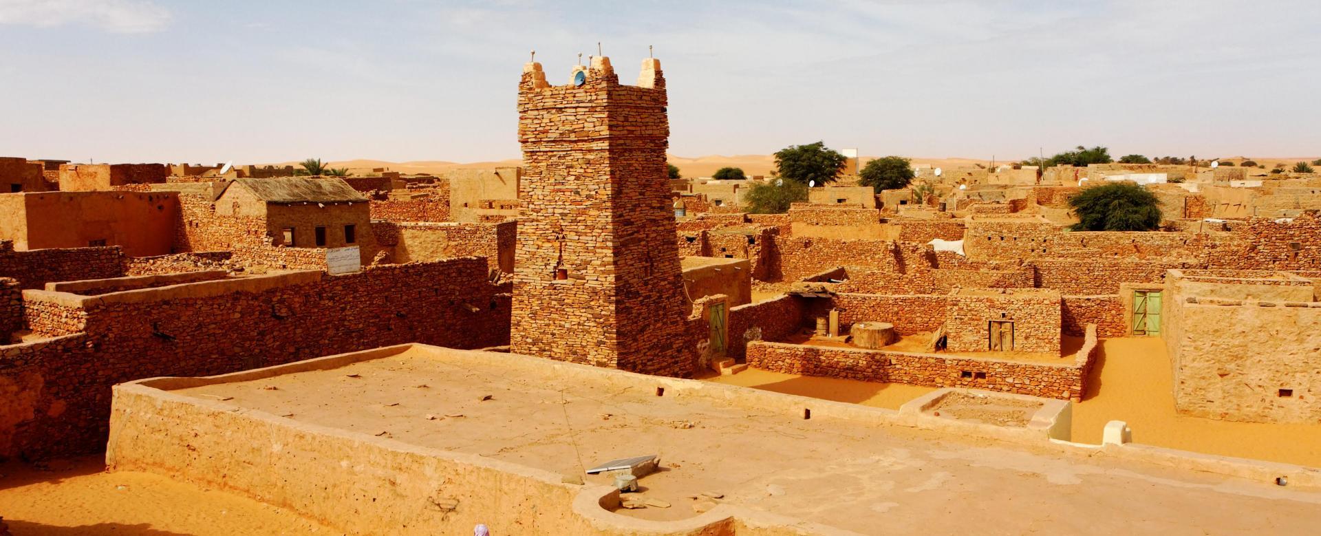 Voyage à pied : Panorama sur l'adrar : de ouadane à terjit