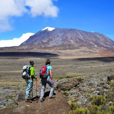 Kilimandjaro: voie Machame