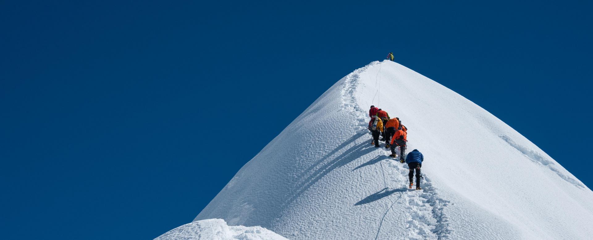 Voyage à pied : Nepal : L\'island peak (6189 m)