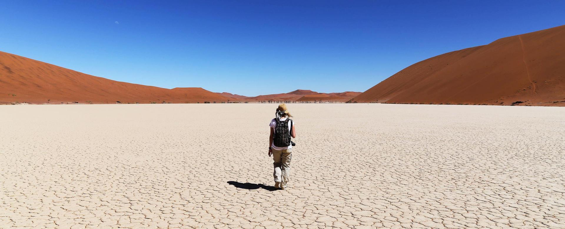 Voyage à pied : Grande randonnée en namibie