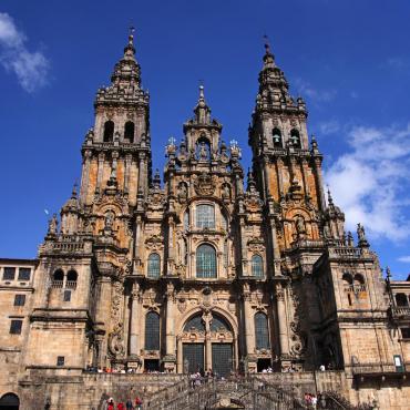 Compostelle: camino del Norte Oviedo-Santiago