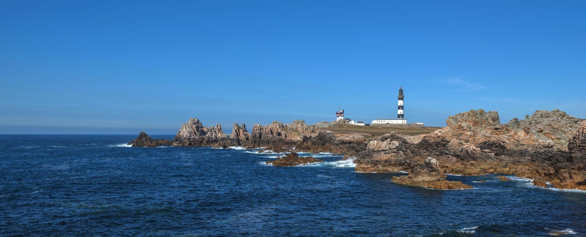 Voyage à pied : Bretagne : Crozon et ouessant