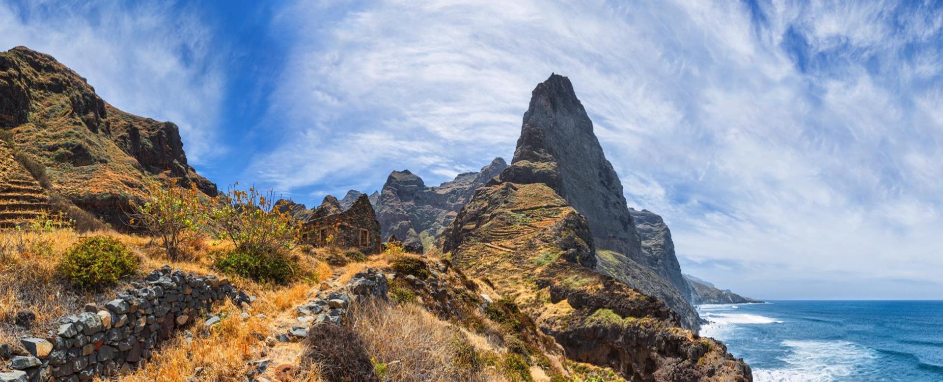 Voyage à pied Cap-Vert : Paradis volcanique et vallées secrètes