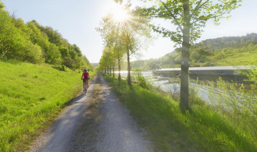 Image De la source du danube à la bavière à vélo