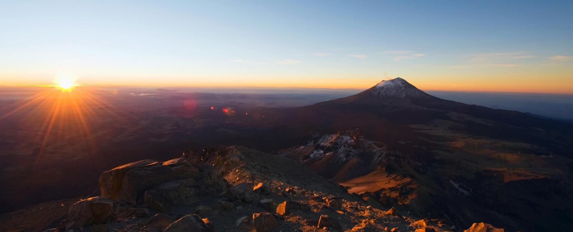 Voyage à pied : Au sommet des volcans