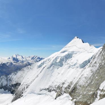 La couronne impériale: le Bishorn (4153 m)