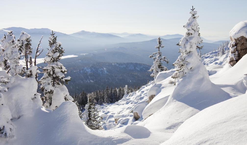 Image Transsibérien en hiver: saint-pétersbourg - baïkal