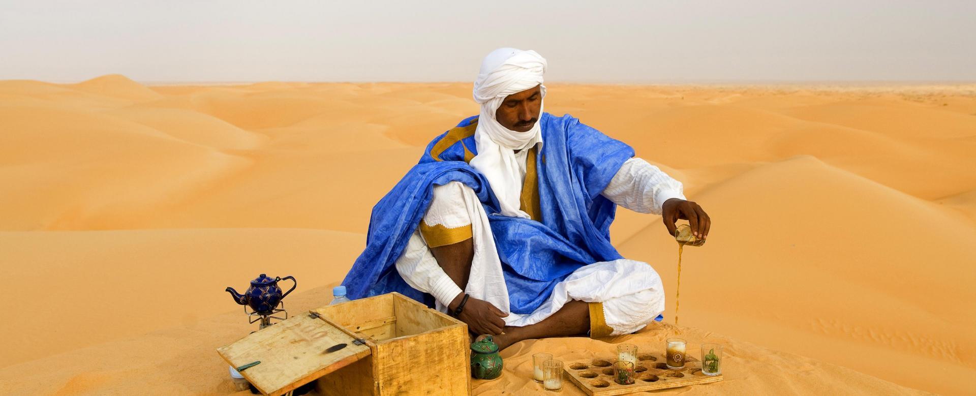 Voyage à pied : Les aventuriers des sables
