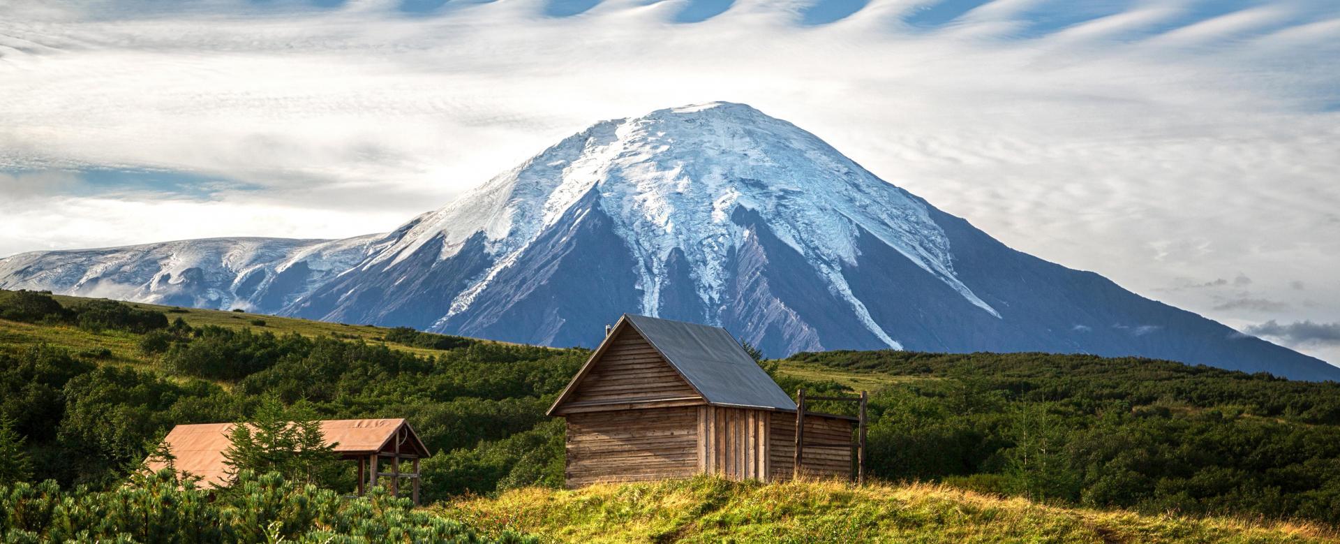 Voyage à pied : Les volcans du kamtchatka