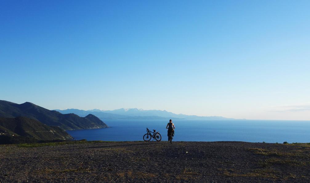 Image Vélo et rando en corse