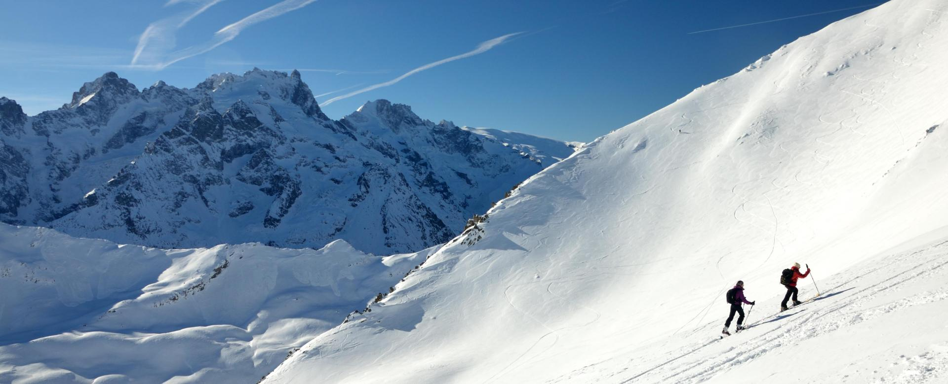 Voyage à la neige : Alpes du Nord : Les plus belles descentes à ski des ecrins