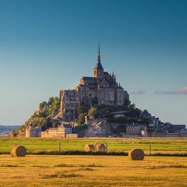 De Saint-Malo au Mont-Saint-Michel à vélo
