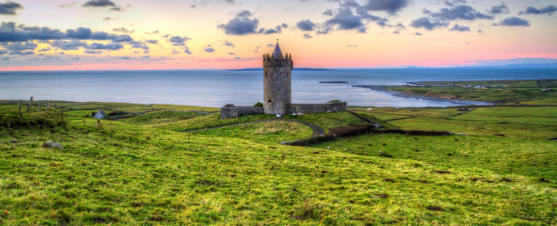 Voyage à pied Irlande : Iles et falaises du sud-ouest irlandais