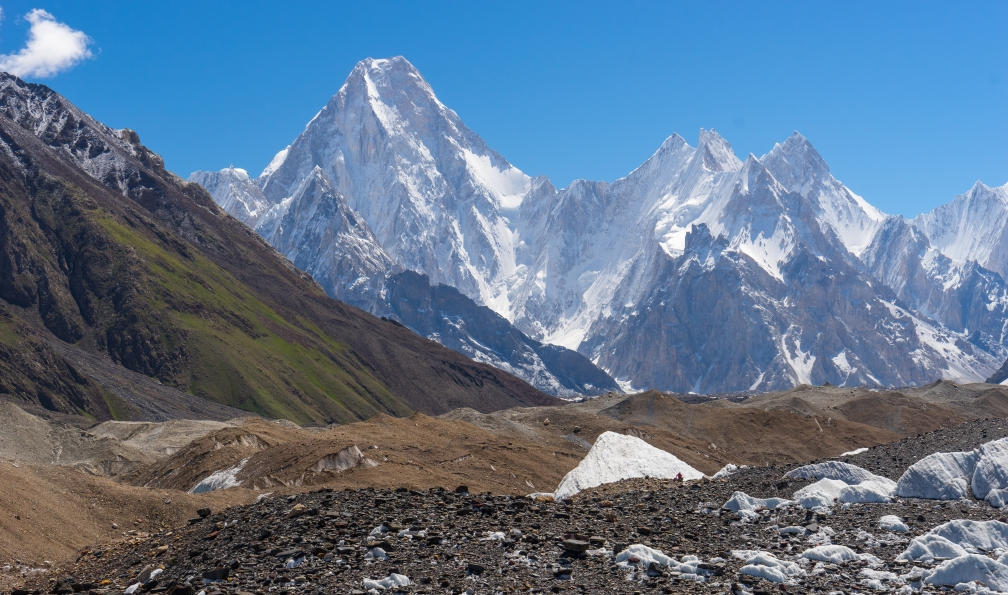Image Trek du camp de base du k2 (8611 m)