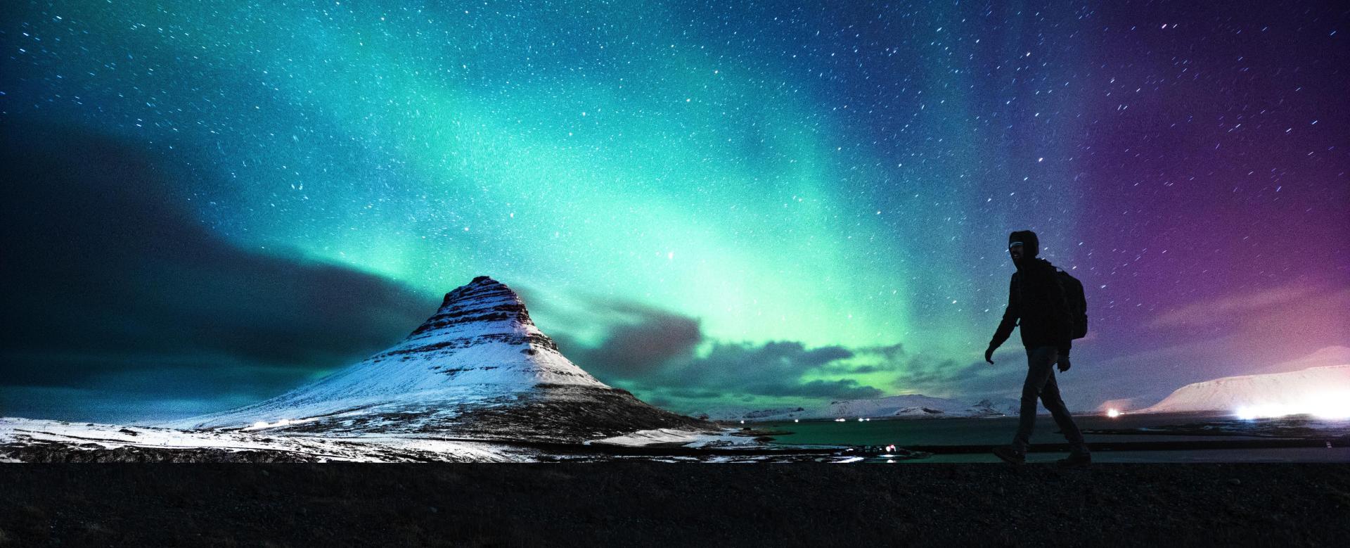 Voyage à la neige : Le tour de l\'islande en hiver