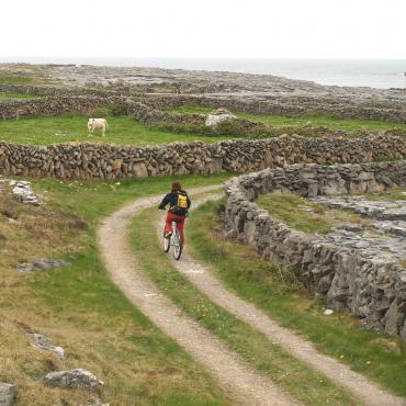 Iles d'Aran et Connemara à vélo en famille