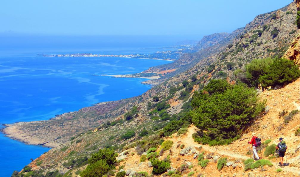 Image Crète, santorin et thirassia