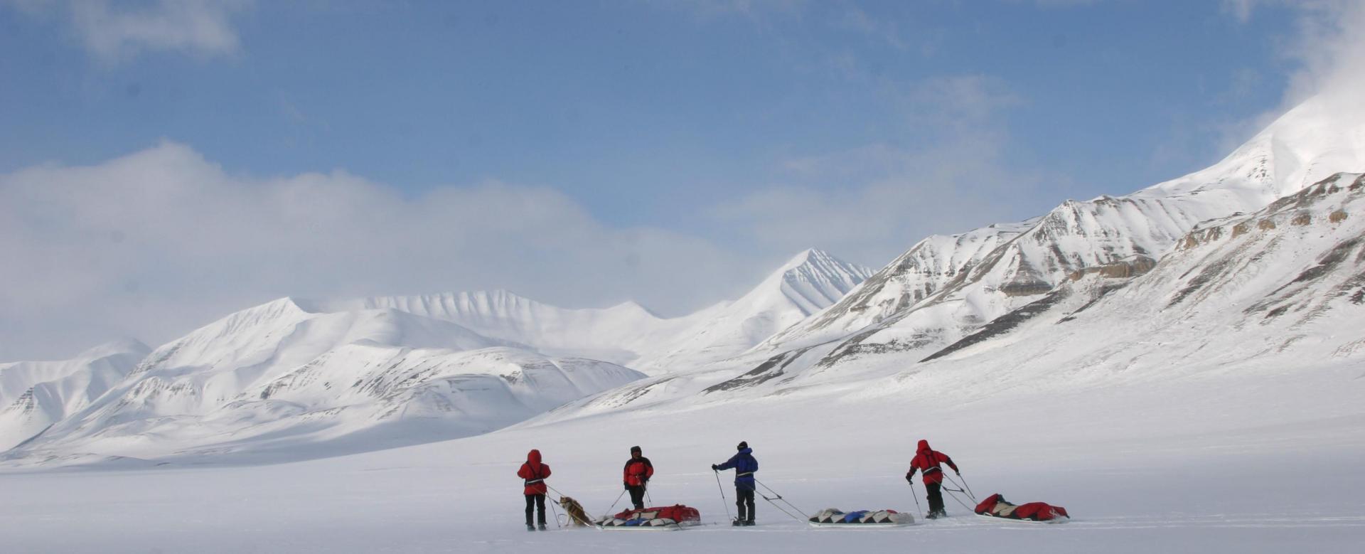 Voyage à pied Norvège : Ours et banquise : raid sur la côte est