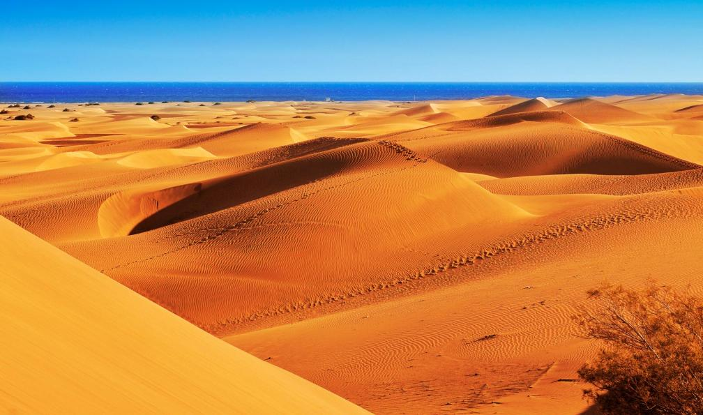 Image Dunes et canyons de gran canaria