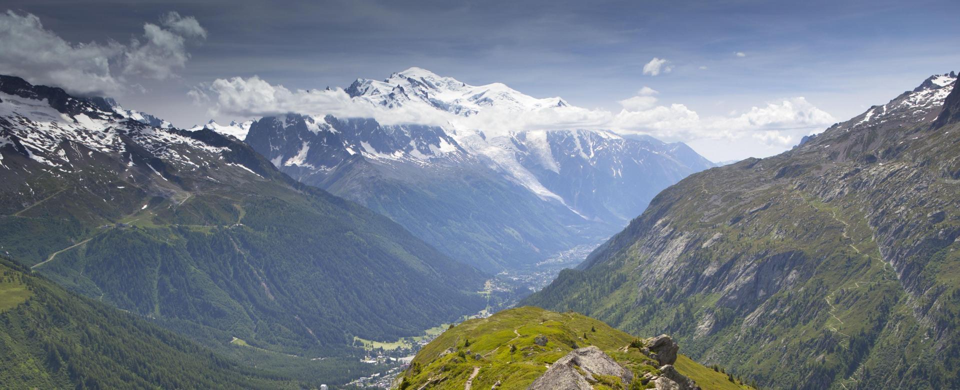 Voyage à pied : Le grand tour du mont-blanc confort